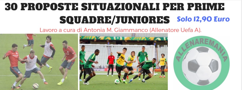 EBOOK PER JUNIORES/PRIMA SQUADRA