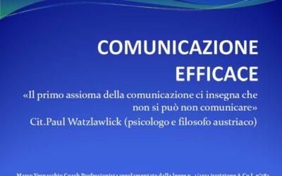 """Corso di Aggiornamento: """"Comunicazione Efficace"""""""